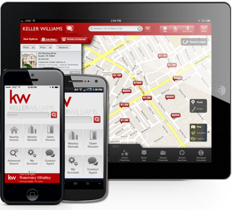 Download my KW Property Search App!