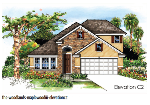 The Maplewood starts at  $267,900 and features 3 beds, 3 baths, and a bonus room.