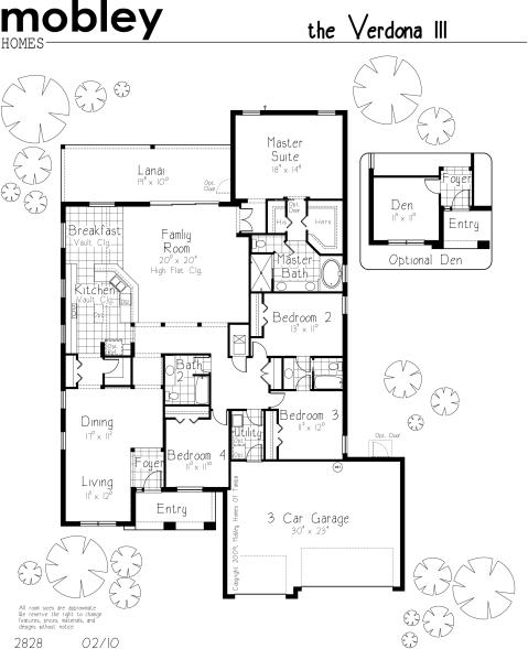 Verdona Floor Plan