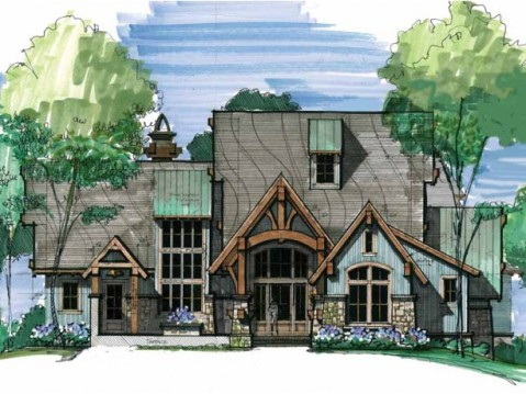 Sun Filled Craftsman Cottage Home Plan