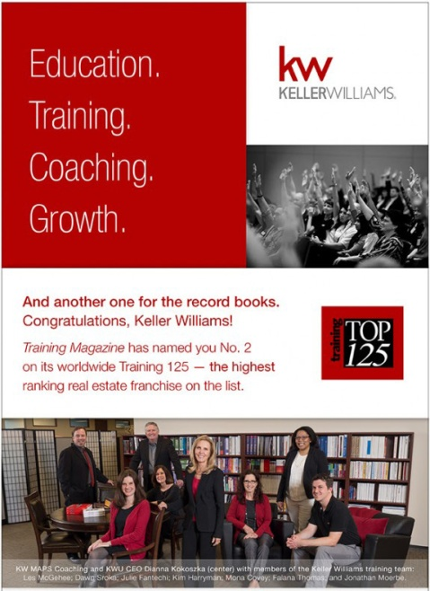 Keller Williams Top Training Organization