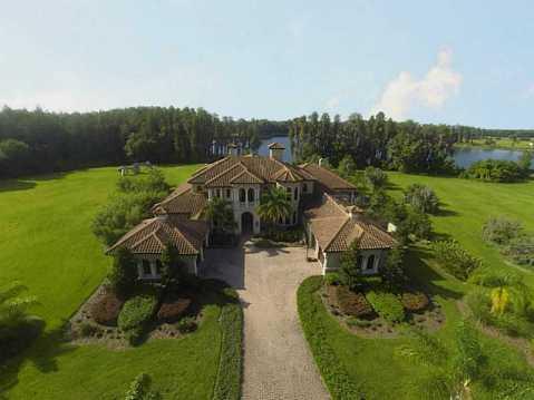 Luxury Mediterranean Estate For Sale in Odessa, FL