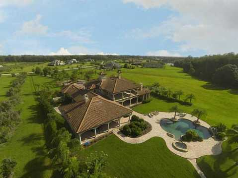 Luxury Mediterranean Estate For Sale in Odessa, FL
