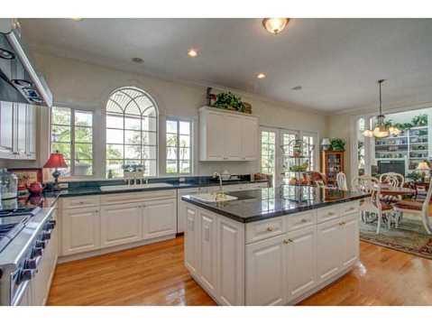 Beautiful Brick Estate for Sale in Odessa:  Bright Gourmet Kitchen