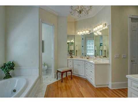 Beautiful Brick Estate for Sale in Odessa:  Master Bath