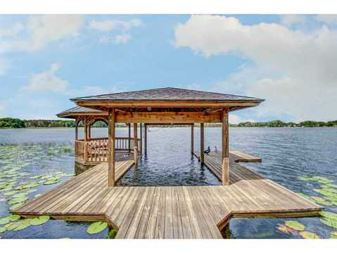 Beautiful Brick Estate for Sale in Odessa:  Private Dock