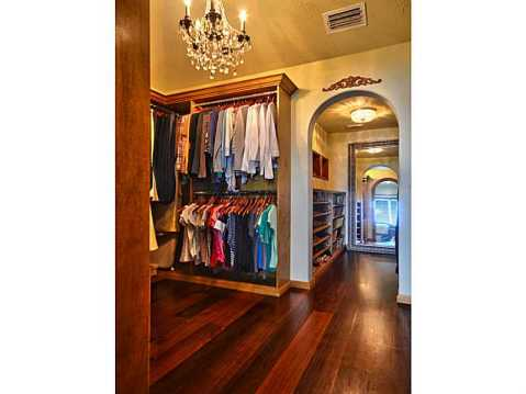 "Beachfront ""Castle"" for Sale in Redington Beach, FL:  Large Walk-in-Closet with Custom Built-Ins"