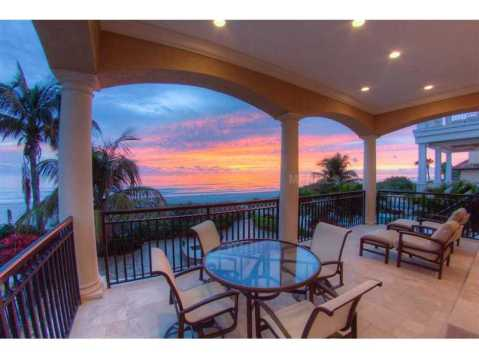 Beachfront Mediterranean For Sale:  sunsets in your backyard