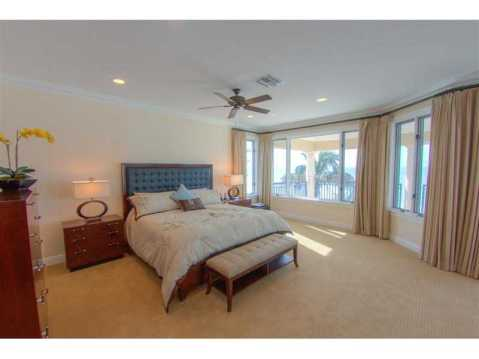 Beachfront Mediterranean For Sale:  master suite