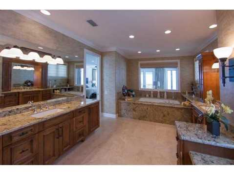 Beachfront Mediterranean For Sale:  Master Bath