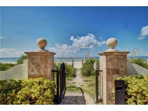 Beachfront Vizcaya Condo with Wraparound Terrace for Sale:  step out of your backdoor onto the silky sands of the beach