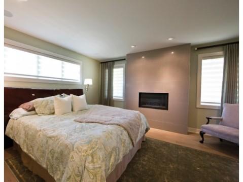 Modern Farmhouse Floor Plan:  Master Bedroom