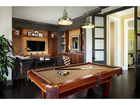 Zero Energy Luxury Home For Sale in Trinity, Florida:  Game Room