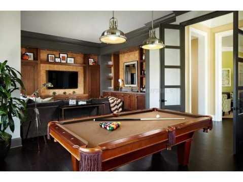 Zero Energy Luxury Home For Sale in Trinity, Florida:  Game Room