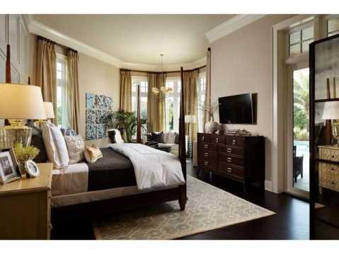 Zero Energy Luxury Home For Sale in Trinity, Florida:  Master Suite