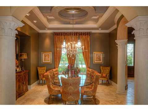 Prestigious Champions Club Home For Sale in Trinity, FL:  Dining Room