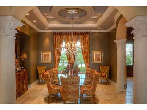 Prestigious Champions Club Home For Sale in Trinity, FL:  Dining Room