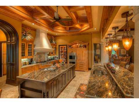Prestigious Champions Club Home For Sale in Trinity, FL:  Gourmet Kitchen