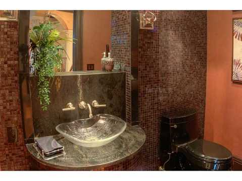 Prestigious Champions Club Home For Sale in Trinity, FL:  Modern Guest Bath