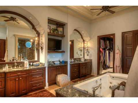 Prestigious Champions Club Home For Sale in Trinity, FL:  Master Bathroom
