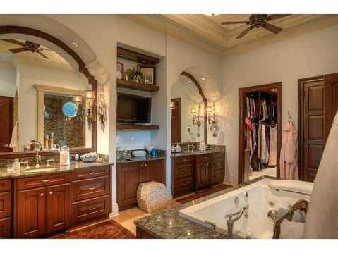 Prestigious Champions Club Home For Sale in Trinity, FL:  Master Bathroom