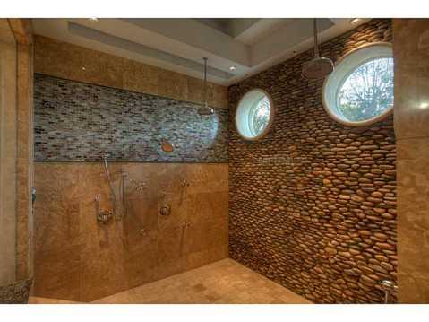Prestigious Champions Club Home For Sale in Trinity, FL:  Large, Custom 2 Person Walk In Shower