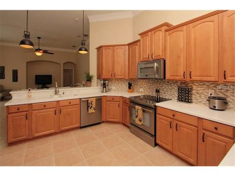 Beautiful Upgraded Tampa Palms Home for Sale:  KITCHEN