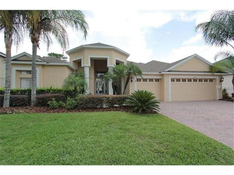 Beautiful Upgraded Tampa Palms Home for Sale:  EXTERIOR FRONT