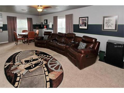 Beautiful Upgraded Tampa Palms Home for Sale:  GAME / BONUS ROOM