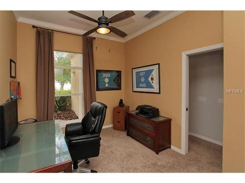 Beautiful Upgraded Tampa Palms Home for Sale:  OFFICE / DEN