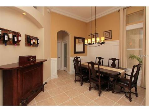 Beautiful Upgraded Tampa Palms Home for Sale:  DINING ROOM