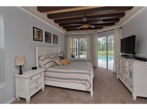 Beautiful Upgraded Tampa Palms Home for Sale:  MASTER BEDROOM