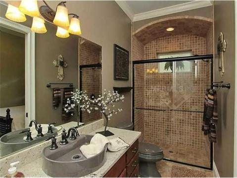Custom Lakefront Home for Sale in Keystone Park Colony:  Guest Bath